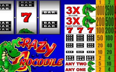 Get Crazy With The Crazy Crocodile And Win Bonuses